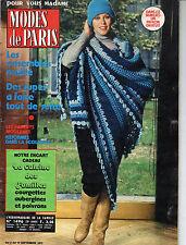 modes de PARIS n°1496 erich segal 1977