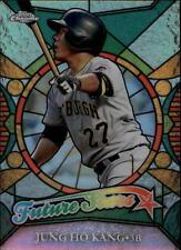 2016 Topps Chrome Baseball Future Stars Refractor Insert #FS19 Jung Ho Kang