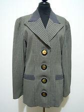 GAI MATTIOLO VINTAGE '80 Giacca Donna Lana Acetate Rayon Woman Jacket Sz.M - 44