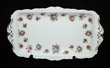 Royal Albert Sweet Violets Sandwich Snack Tray 1st Quality - Beautiful!