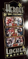 1998 Heroes of the Locker Room stickers #2 - Emmitt Smith, Jerry Rice,Young, etc
