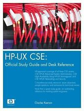 HP-UX CSE: Official Study Guide and Desk Reference (HP Professional Series)