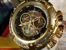 Invicta 21341 Reserve 56mm Silver/Gold Tone Thunderbolt Chrono S/S Bracelet NEW!