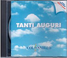 """COLONNELLO   """"TANTI AUGURI""""  CD RARO  SPOT-TV  LAVAZZA"""