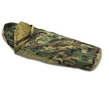 USGI MSS Goretex Bivy Cover Sleeping Bag Woodland Camo Excellent NSN
