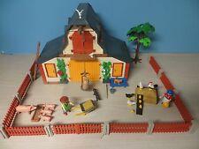 837 Playmobil 3072 Bauernhof mit extra Zubehör wie Zaun mit Tor, Hühner, Kuh