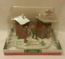 Lemax Coventry Cove Christmas Friendly Fishing Competition Table Accent New NIB