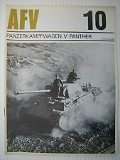Profile AFV Weapons 10 - PANZERKAMPFWAGEN V PANTHER - Printed approx 1970