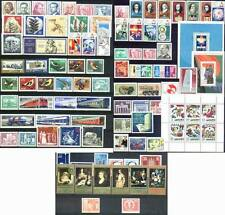 DDR East-Germany GDR: All stamps of 1973 in a year set complete, MNH and genuine
