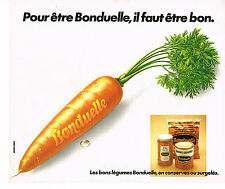 PUBLICITE ADVERTISING 044   1979   BONDUELLE   légumes en conserves
