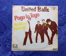 "UNITED BALLS (7"") ""POGO IN TOGO"" [1981 JUPITER VINYL SINGLE ""SKA NDW PUNK"" KULT]"