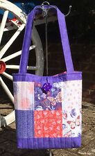 Quality Sewing Craft Kit - Patchwork Quilted Tote Bag Butterfly