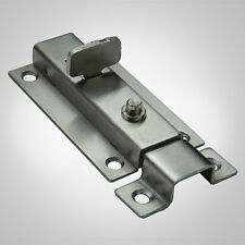 Automatic Push Button Latch Door Bolt Lock Safety Guard Protection