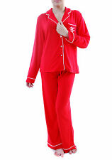 Wildfox Women's New Classic Morning Person Pyjama Red Size M RRP £130 BCF69