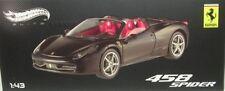 Ferrari 458 Spider (mattschwarz)