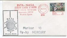 1974 Mariner 10 Mercury INTA-NASA Estacion Espacial Madrid Deep Space Network