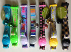 Kitten & Small Cat Nylon Collar Quality US Import Breakaway safety buckle & Bell