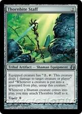 THORNBITE STAFF Morningtide MTG Tribal Artifact — Shaman Equipment Unc