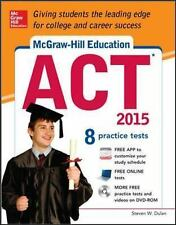 McGraw-Hill Education ACT with DVD-ROM, 2015 Edition