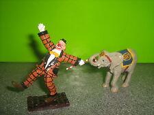 Britains Circus 08674 Parade clown & Baby Elephant