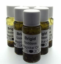 Brigid Goddess Herbal Infused Botanical Incense Oil