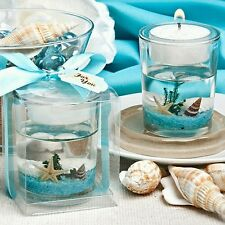 Underwater Sea Scene Gel Candle Beach Theme-Bridal Shower/Wedding Favor
