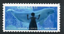 Weeda Canada 2157i VF NH Die cut Aquarium single, from Annual Collection