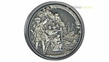 5 $ Dollar Journeys of Discovery Chris. Columbus Niue Island 2015 2 oz Silber