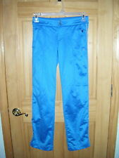 Womens AMERICAN EAGLE WarmUp Basketball Training Blue Sweat Athletic Pants Sz 0