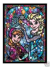 Frozen Stained Glass Arts - 266 Pieces Disney Jigsaw Puzzle by Tenyo from Japan