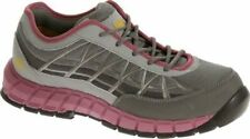 Caterpillar Women's Connexion Steel Toe Work Grey/Pink Shoes P90501 SIZE 6.5