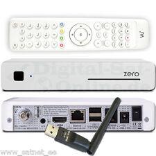 VU+ Zero White FullHD IPTV LAN USB PVR Linux Enigma2 Satellite Receiver + Wi-Fi