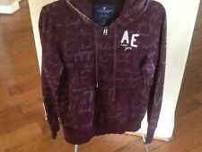 American Eagle Outfitters Fleece Graphic Hoodie Sweater Junior Size Large