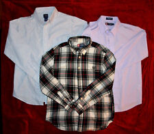 BOYS CLOTHES LOT SIZE L 14 - 16 DRESS SHIRT SHIRTS CHAPS ARROW