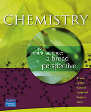 Chemistry: The Central Science, Brown, Theodore E & LeMay, H. Eugene & Bursten,