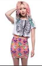 NEW IRON FIST Sweet Tooth Mini Skirt Size: Small