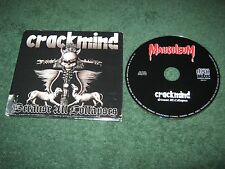 Because All Collapses [Digipak] by Crackmind (Mausoleum)