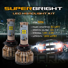 LED 80W 7800LM LED Kit CREE XT-E 6000K White Headlight Light Bulbs  9006 HB4 (A)