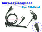 4-010S2L Ear Loop Earpiece for Midland G7 G8 GXT Series