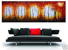2.4m large  BUSH FIRE AUSTRALIA  large aboriginal oil PAINTING CANVAS