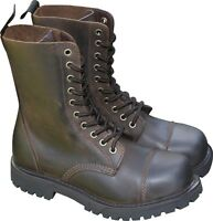 SENDRA Springer-Stiefel BOOTS Braun Worker Engineer Matt Outdoor Arbeit NEU