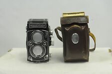 Rolleiflex 2.8D Xenotar with Cap & Case