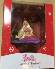 "HEIRLOOM 2014 HOLIDAY""LUMINA""MERMAID BARBIE 2""ORNAMENT LIMITED COLLECTIBLE(NEW"