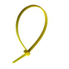 PC1041 800 pcs x Cable Ties Tidy 300 x 4.8mm Yellow Medium