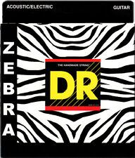 DR Zebra Acoustic-Electric Guitar Strings ZEH-9 extra lite-n-heavy  9-46