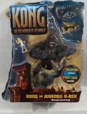 King Kong 2005 Movie Kong Vs Juvenile V-Rex 8th Wonder World Playmates T-Rex MOC