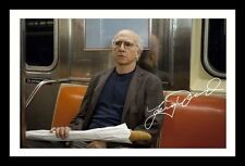 LARRY DAVID - CURB YOUR ENTHUSIASM AUTOGRAPHED SIGNED & FRAMED PP POSTER PHOTO