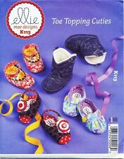 KWIK SEW SEWING PATTERN 113 BABY SZ S-XL ELLIE MAE SHOES/SLIPPERS/SANDALS/BOOTS