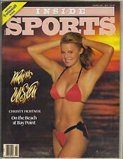 MISS USA CHRISTY FICHTNER Inside Sports Magazine 2/87 ANNUAL SWIMSUIT ISSUE