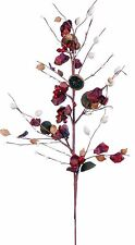 """28"""" Rosehip Berry Pick Spray Stem Fall Thanksgiving Christmas Holiday Floral 92t"""